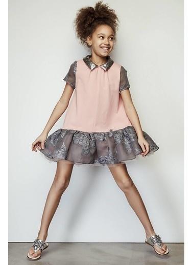 Lia Lea Kız Çocuk Pembe Elbise Pembe